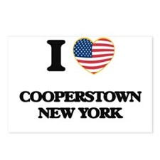 I love Cooperstown New Yo Postcards (Package of 8)