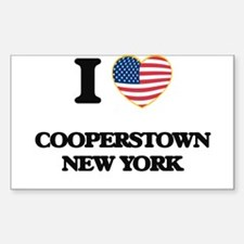 I love Cooperstown New York Decal