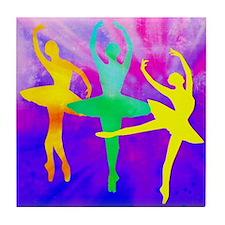 Dancing Ballerina Tile Coaster