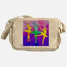 Dancing Ballerina Messenger Bag