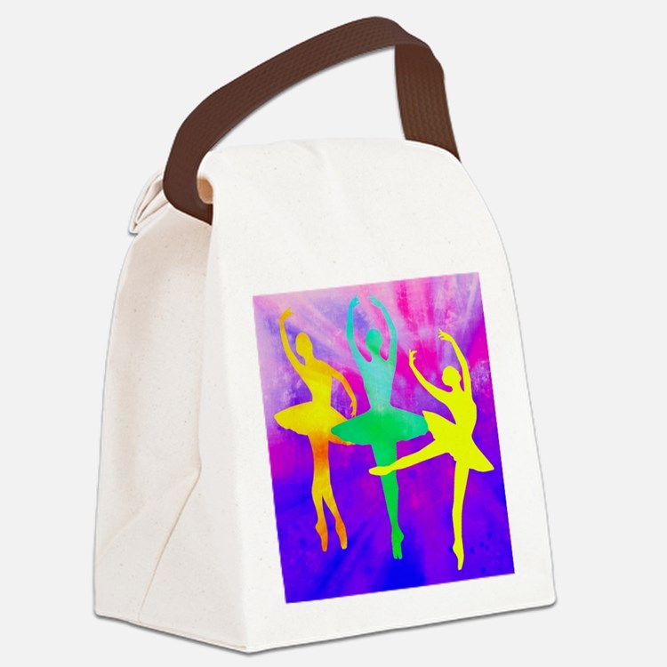 Dancing Ballerina Canvas Lunch Bag