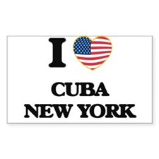 I love Cuba New York Decal