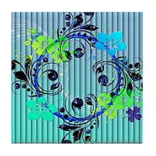 Designer Garden Tile Coaster