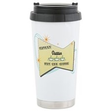 Funny Just add coffee Travel Mug