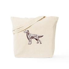 English / Irish Setter Tote Bag