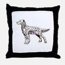 English / Irish Setter Throw Pillow