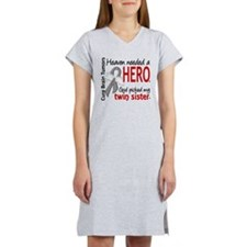 Brain Tumor HeavenNeededHero1 Women's Nightshirt
