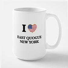 I love East Quogue New York Mugs