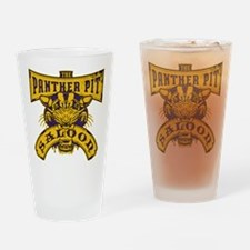 Panther Pit Saloon Drinking Glass