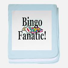 Bingo Fanatic baby blanket