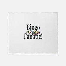 Bingo Fanatic Throw Blanket