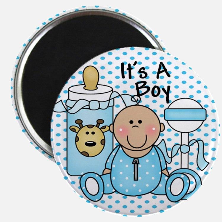It's A Boy Baby Blue Magnet