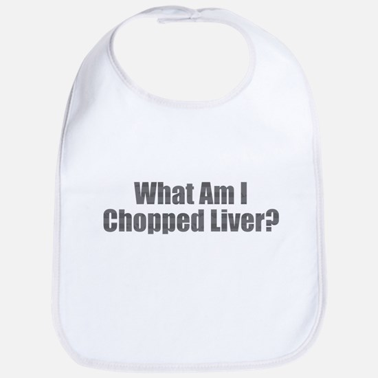 Chopped Liver Baby Bib