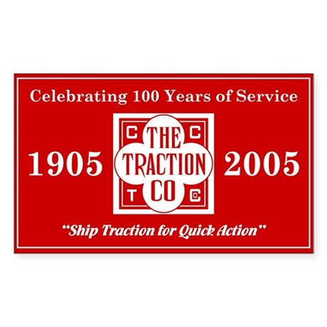 CCT Centennial Sticker