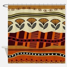 Ethnic 2 Shower Curtain