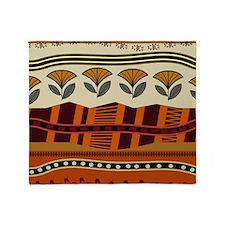 Ethnic 2 Throw Blanket