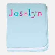 Joselyn Princess Balloons baby blanket