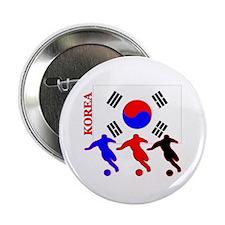 "Korea Soccer 2.25"" Button (100 pack)"
