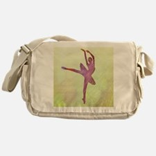Pink Dancer Messenger Bag