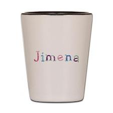 Jimena Princess Balloons Shot Glass