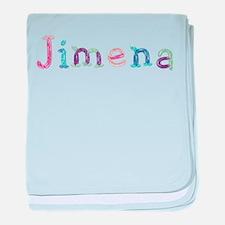 Jimena Princess Balloons baby blanket
