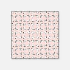 "HAPPY TEETH Square Sticker 3"" x 3"""