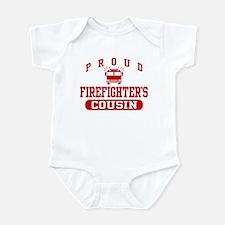 Proud Firefighter's Cousin Infant Bodysuit