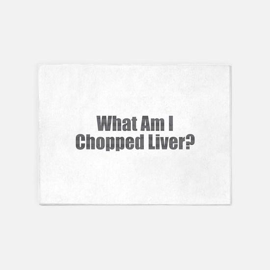 Chopped Liver 5'x7'Area Rug