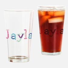 Jayla Princess Balloons Drinking Glass