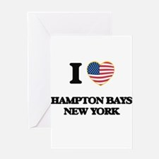 I love Hampton Bays New York Greeting Cards