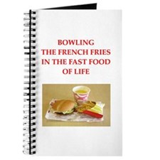 a funny bowling joke on gifts and t-shirts. Journa