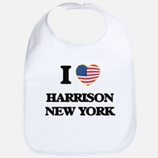 I love Harrison New York Bib