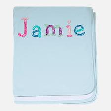 Jamie Princess Balloons baby blanket