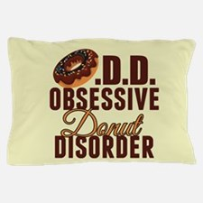 Funny Donut Pillow Case