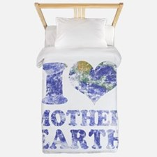 I Love Mother Earth Twin Duvet