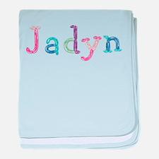 Jadyn Princess Balloons baby blanket