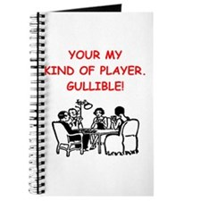 card player joke Journal