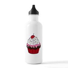 Cupcake Sports Water Bottle