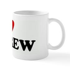 I Love ANDREW Small Mug