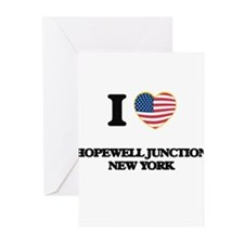 I love Hopewell Junction New York Greeting Cards