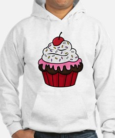 Chocolate Cupcake w/Pink Frostin Hoodie
