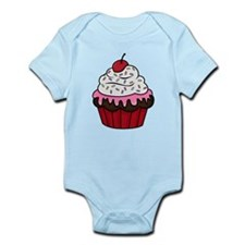 Chocolate Cupcake w/Pink Frosting Body Suit