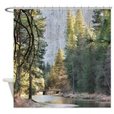 Cool National forest Shower Curtain