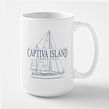 Captiva Island - Large Mug