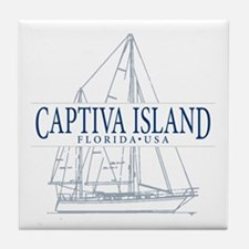 Captiva Island - Tile Coaster