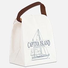 Captiva Island - Canvas Lunch Bag