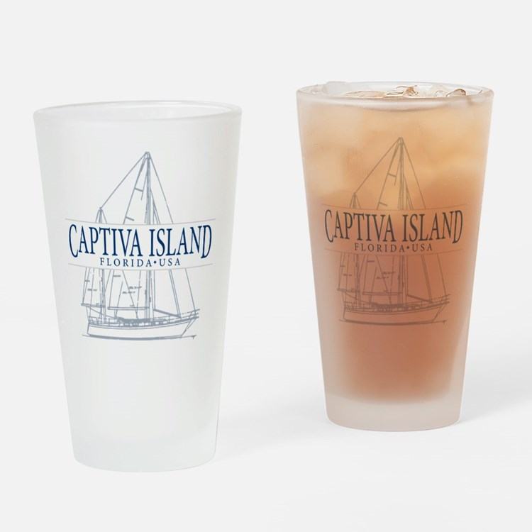 Captiva Island - Drinking Glass