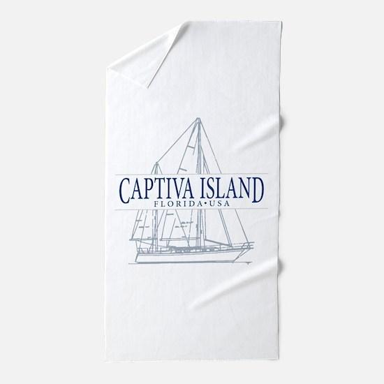 Captiva Island - Beach Towel