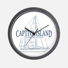 Captiva Island - Wall Clock