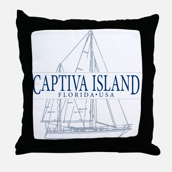 Captiva Island - Throw Pillow